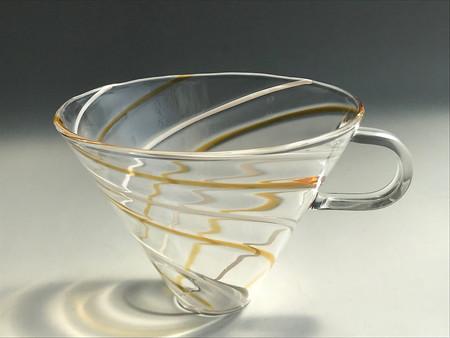 コーヒーガラスドリッパー